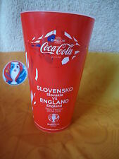 Coca Cola Fan Becher Slowakei - England Match 28