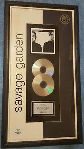 SAVAGE GARDEN (SELF TITLED) Multi-Platinum ARIA award!