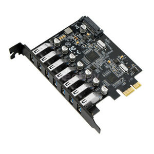 1 to 7 PCIe Miner Machine Graphics Card Extension Cord PCI-E turn 8 Port USB 3.0