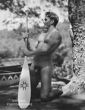 1990 Vintage BRUCE WEBER matted 14X11 Photo Gravure Young Male Nude Model JOHN
