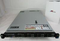 DELL  R620 Server Dual 8-Core Xeon E5-2650v2 64GB RAM 2x 900GB SAS 10SFF ESXI 7