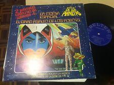 """LA BATALLA DE LOS PLANETAS 12"""" LP COMANDO G SERIE TVE OST SYNTH BELTER 1980"""