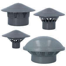 Kanalisationsentlüfter Entlüftungshaube 50, 75, 110, 160 mm grau Dachentlüfter