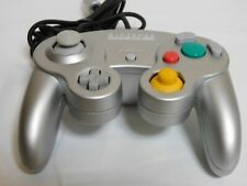 Nintendo GameCube Official Controller Silver color Wii Pad Game JAPAN F/S