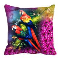 Cushion Covers Parrot Printed Home Decor Sofa case Waist Throw Cushion Cover