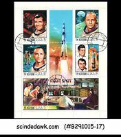 RAS AL KHAIMA - 1970 APOLLO XII MOON MISSION / SPACE MIN/SHT - CTO