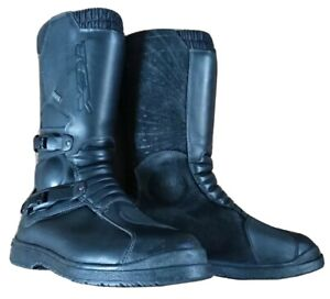 TCX Infinity GTX Black Leather Motorcycle Boots Gore-Tex RRP £249.99
