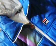 JACKET  vintage 80's  FILA era Borg TG. 42-S/M made in Italy  RARE