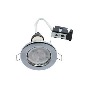 6 X GU10 MAINS 240 VOLT HALOGEN LED RECESSED DOWNLIGHT SPOTLIGHT DOWNLIGHTER