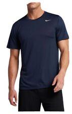 Nike Mens Dry Legend Training Short Sleeve Crewneck Dri-Fit T-Shirt Navy Nwt