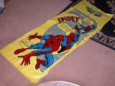Vintage 1977 Spider-man Inflatable Spidey Air Mat Water Raft Mattress Pool Float