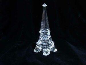 """Crystal Eiffel Tower - Large - Lead Chrystal Replica- 5"""""""