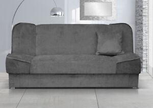 Sofa Gabi mit Schlaffukntion und Bettkasten Jugendzimmer Gästezimmer Couch M24