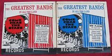 Lot of 2 LPs: The Greatest Bands In All The Land The Second & Third Show