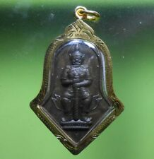 GORGEOUS THAWWESSUWAN OLD THAI BUDDHA AMULET VERY RARE !!!