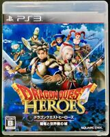 Dragon Quest Heroes - PS3 Square Enix Role Playing Game from Japan F/S
