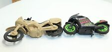 Playmobil Racing Team Motorcycle + Speedster Cycle set of Two