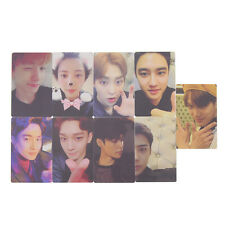 9 Pcs Kpop EXO Pattern LOMO Card 5th Anniversary Photocards Fans Gift Fashion