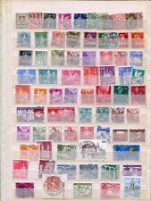 Schweiz Lagerbuch gest. alt bis modern ca. 3900 Marken