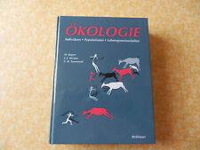 Sachbuch Ökologie Individuen Population Lebensgemeinschaften Birkhäuser Verlag