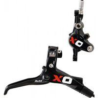 Impianto frenante bici MTB anteriore SRAM X0 Carbon leve freno brake lever front