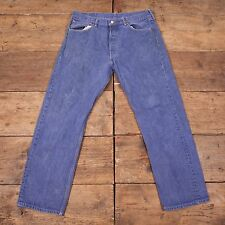 Men's Vintage Levis Red Tab 501 Denim Jeans Blue Size 36 X 31 R3762