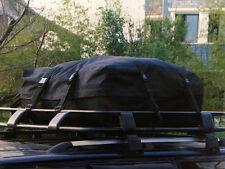 520 Litre XL UNIVERSAL FOLDING CAR ROOF CARGO BAG with STRAPS van 4 x 4 caravan