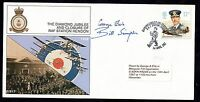 1987 RAF Hendon Diamond Jubilee cover signed Bill Simpson & Pilot WS1771