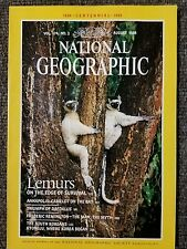 National Geographic magazine August 1988 Lemurs, Annapolis, South Korea, Kyongju