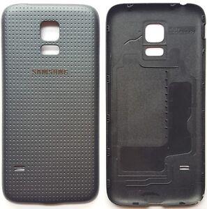 Samsung Galaxy S5 mini SM-G800F Akkudeckel Backcover  Rückseite aus PP Schwarz