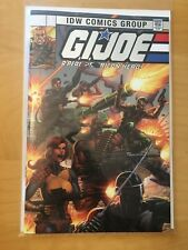 GI JOE A REAL AMERICAN HERO ANNIVERSARY EDITION, NM+ 9.6, SILVER FOIL, IDW