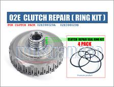 DSG Clutch Bagues Kit 02e, boîte de vitesses, Audi VW Skoda Seat, Réparation Set de 4 anneaux