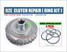 DSG Clutch pack ring kit 02e,Gearbox,Audi VW Skoda Seat,repair set of 4 RINGS