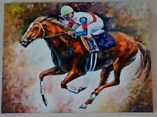 "LEONID AFREMOV ""FIRST"" GICLEE ON CANVAS SIGNED #168/995 W/COA GALLERY WRAPPED"