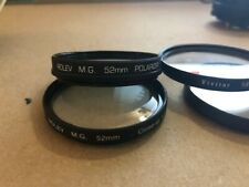 Rolev 52mm kit +1, +2, +4  Filters close up macro set