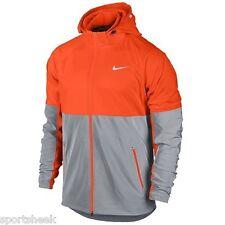 Nike Mens Flash Shield Jacket Windrunner Reflective 3m   Bright Orange SZ SMALL