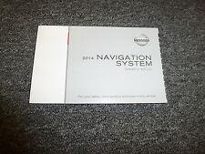 2014 Nissan Armada Cube Navigation System  Operator User Manual