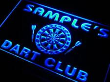 ts-tm Name Personalized Custom Dart Club Bar Beer Neon Sign