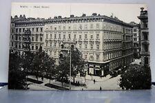 Austria Vienna Wien Hotel Bristol Postcard Old Vintage Card View Standard Post