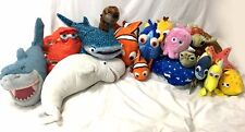 Disney Store Finding Nemo Stuffed Plush Lot Set of 17 Dory Otter Destiny Otter