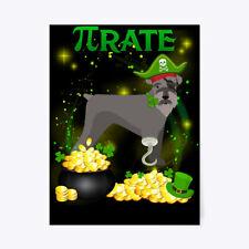 "Kerry Blue Terrier Pi Day St Patricks Da Gift Poster - 18""x24"""