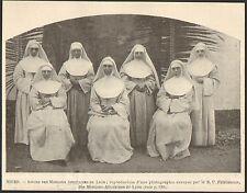 NIGER RELIGIEUSES SOEURS DES MISSIONS AFRICAINES DE LYON IMAGE 1901