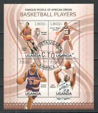 Uganda block Basketball players