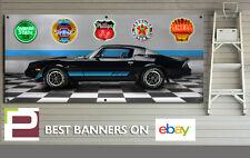 1981 CHEVROLET CAMARO Z28 Garage Scene Banner, Workshop, Garage, 5' x 2'