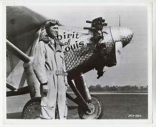 "James Stewart (Pressefoto '57) in ""Lindbergh"" / Spirit of St. Louis / Flugzeug"