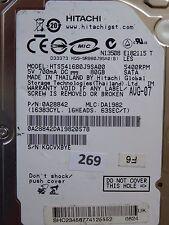80GB Hitachi HTS541680J9SA00 | 0A28842 | DA1982 | 220 0A28613 #269