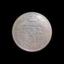 CYPRUS 18 PIASTRES 1907 EDWARD VII SILVER KM 10 #5374#