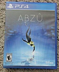 ABZU SONY PLAYSTATION 4 PS4 RARE