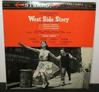 WEST SIDE STORY SOUNDTRACK (VG+) OS-2001 LP VINYL RECORD