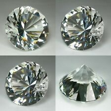 IF 180 cts Huge Brilliant Round (40 mm) Lab White Diamond Crystal AAA N1000